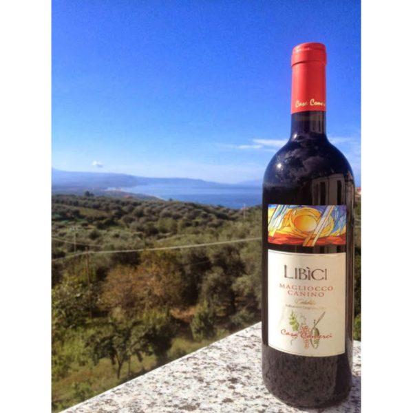 Rødvin-Casa-Comerci-Calabria-Libici-2007