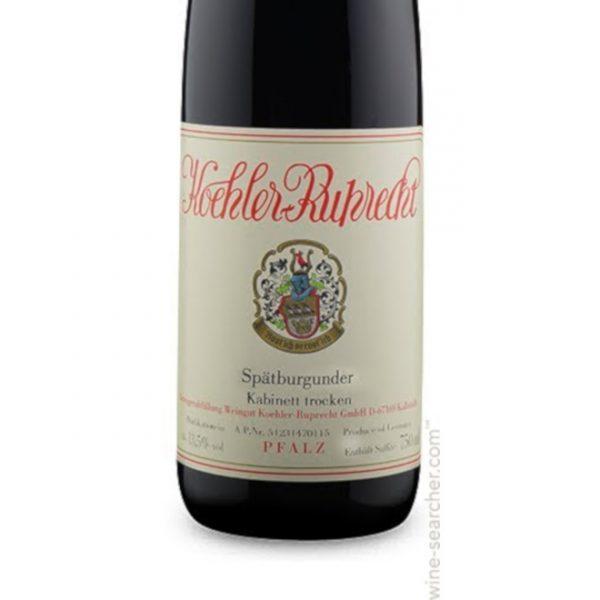 Rødvin-Koehler-Ruprecht-Pfalz-Spatburgunder-Kabinett-Trocken